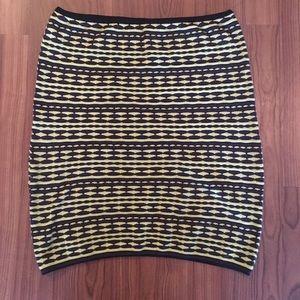 M Missoni Knit Tube Mini Skirt